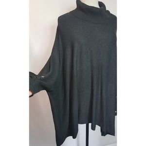 Alfani Sweaters - Alfani oversized cowl neck asymmetrical sweater